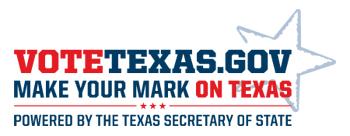 VoteTexas logo